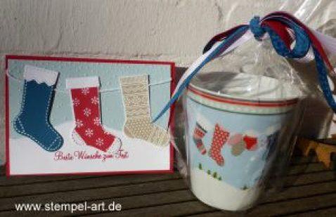 Swaps für Düsseldorf OnStage 2016 nach StempelART, Stampin up, Swirly Bird, Gorgeous Grunge, Lagenweise Kreise, Layered Letters Alphabet