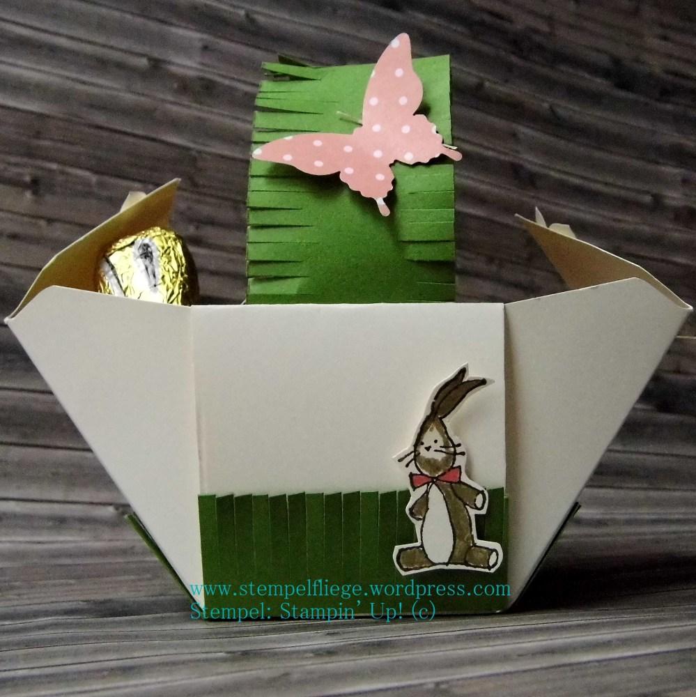 Anleitung fürs Osterkörbchen mit dem Envelope Punch Board (1/4)