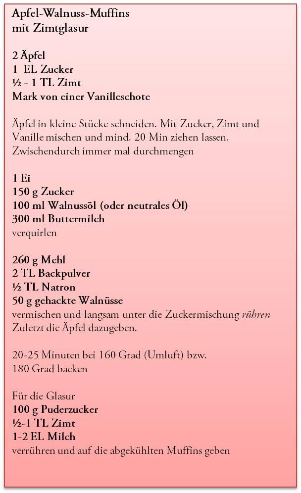 Apfel-Walnuss-Muffins mit Zimtglasur (2/2)
