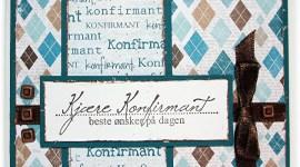 Konfirmasjonskort til gutt – med tekst