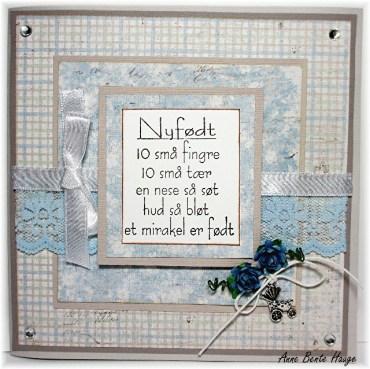Kort med «Nyfødt dikt»