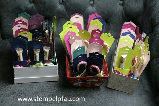 Kleine Goodies für die Kollegen. Schnell gewerkelt mit den Produkten von Stampin' Up!