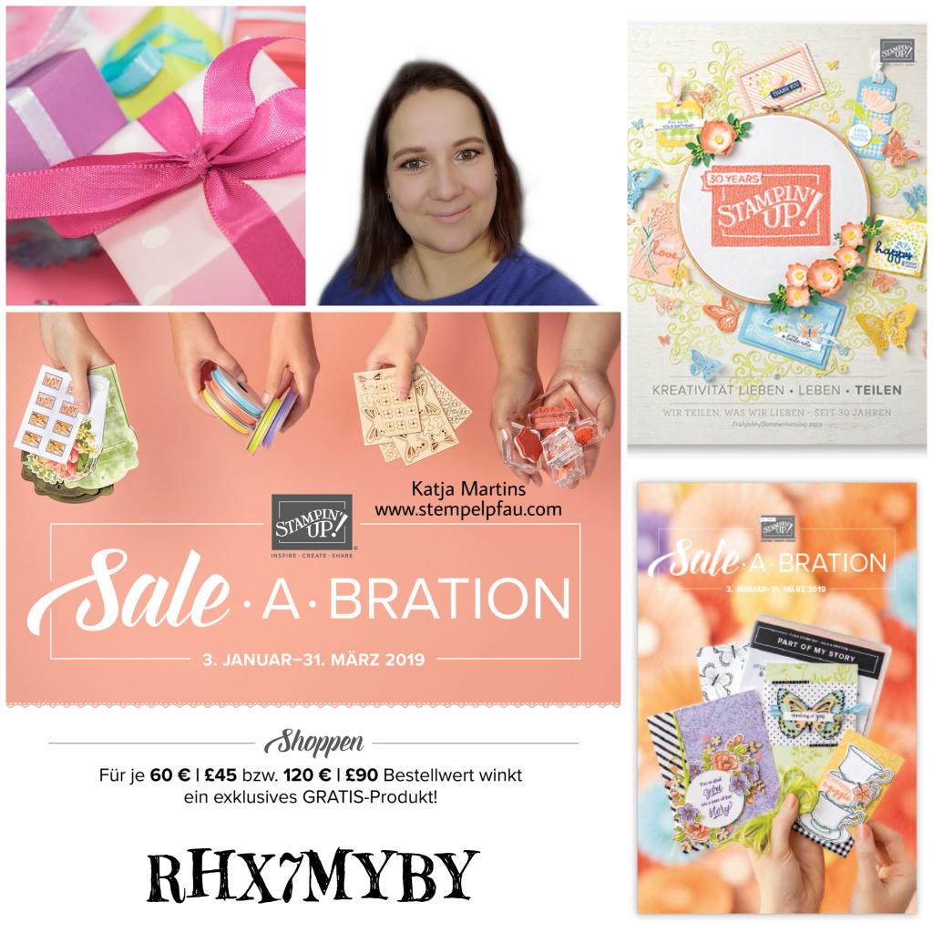 Februar Aktion vom Stempelpfau. Bestelle deine Stampin' Up! Produkte über den Onlineshop.