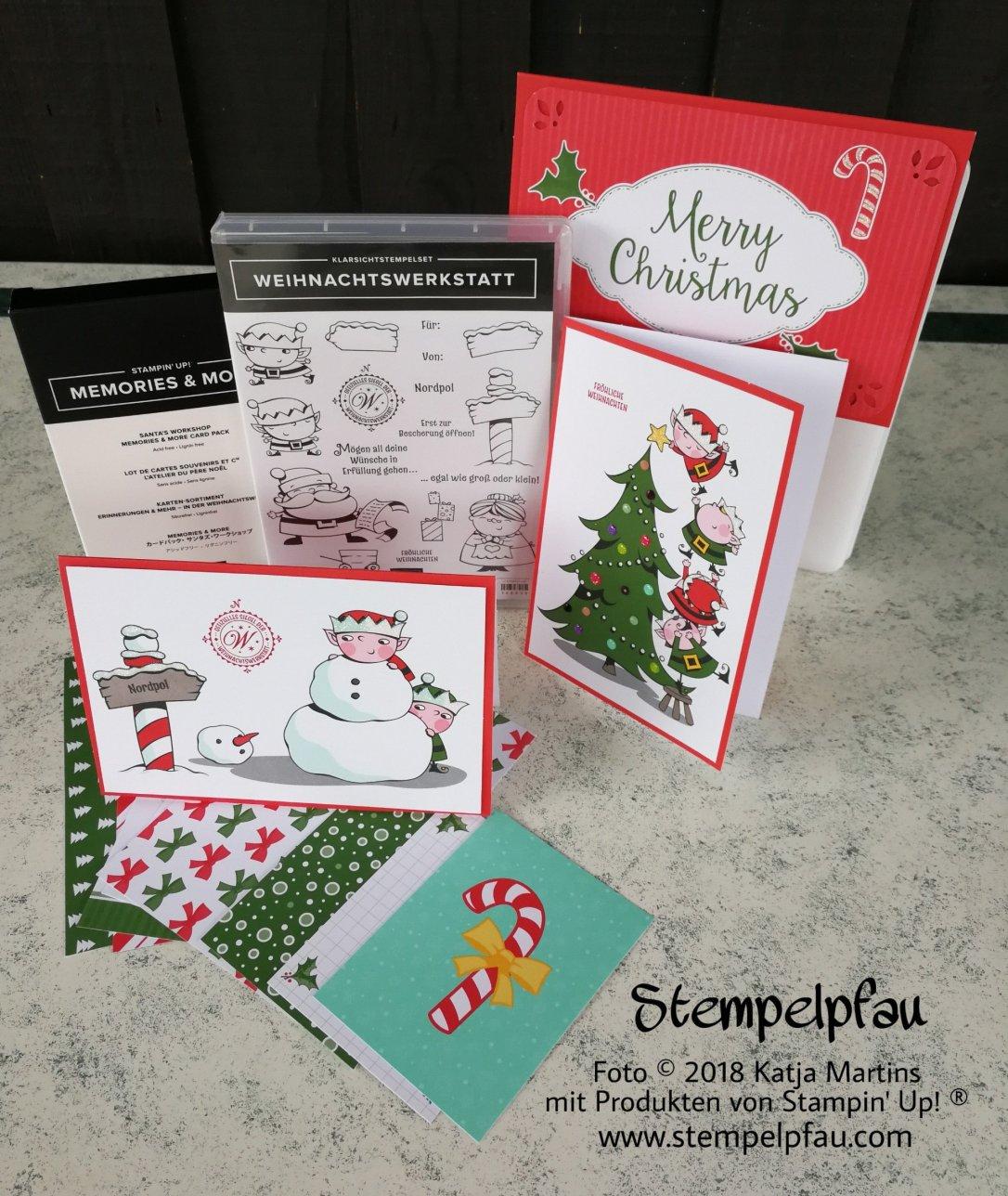 Memories anderen More Stampin' Up! Weihnachten