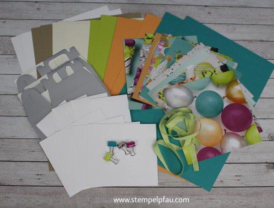 Materialpaket April mit Stampin' Up! Produkten