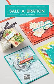 Sale-a-Bration Broschüre Teil 1 vom Jahr 2018