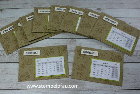Kalenderkarten als SALE Produkt in meinem Dawandashop.