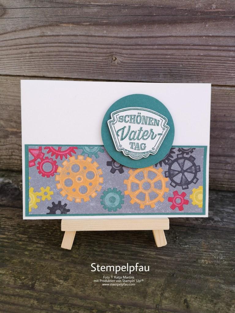One Sheet Wonder mit dem Produktpaket In der Werkstatt von Stampin' Up!