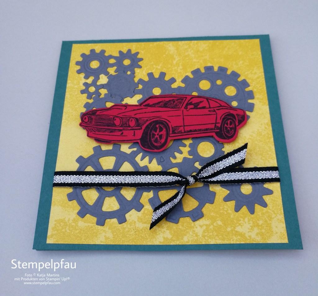 Stampin' Up! Produktreihe In der Werkstatt - Explosionskarte