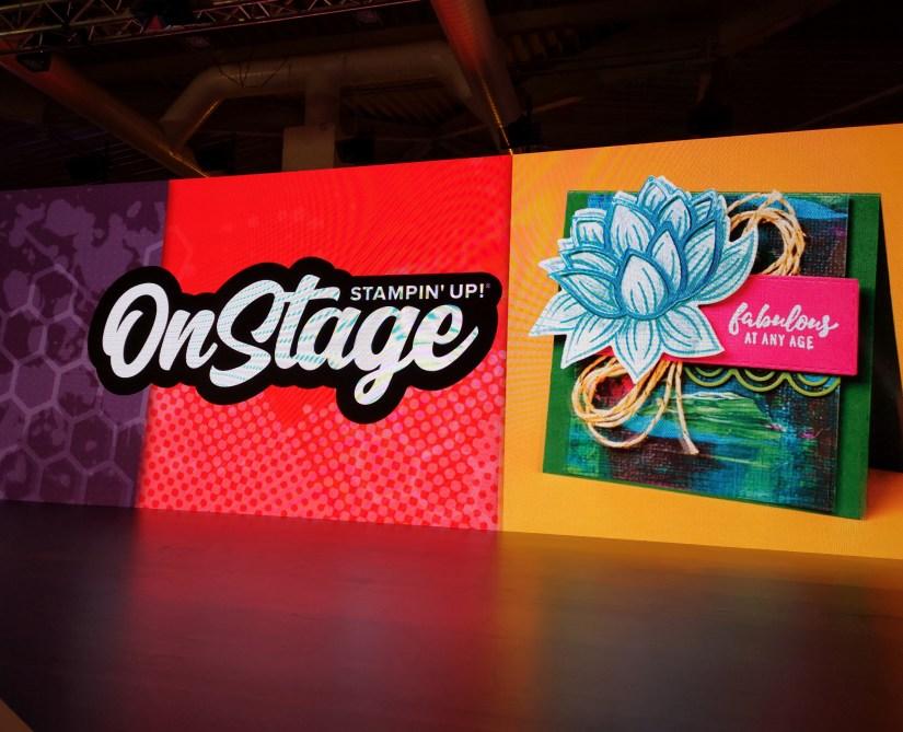 OnStage Live in Dortmund und der Stempelpfau mitten drin.