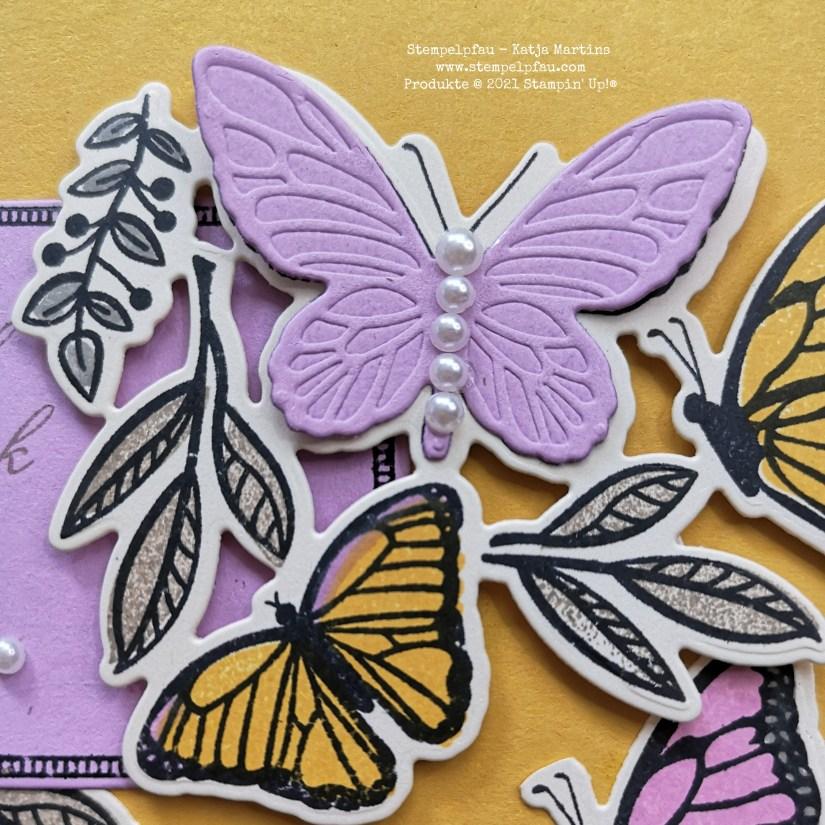 Schmetterlinge Fresienlila