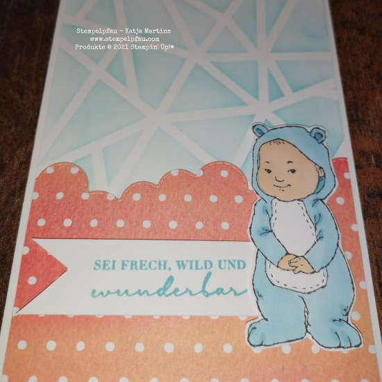 Wildly Adorable Babykarte