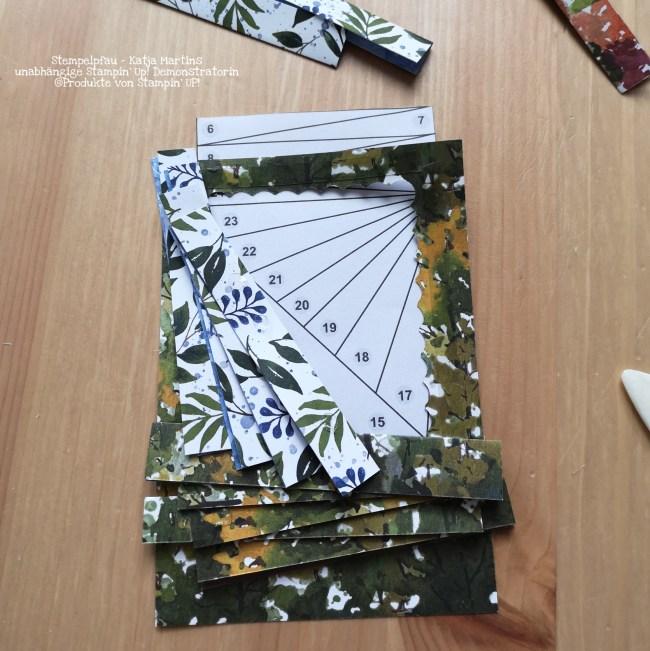 Iris Folding Frohe Feiertage Schöne Natur Stempelpfau