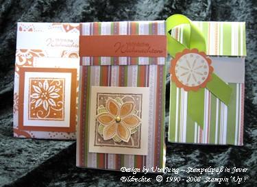 Weihnachtliche Geschenktütchen 2