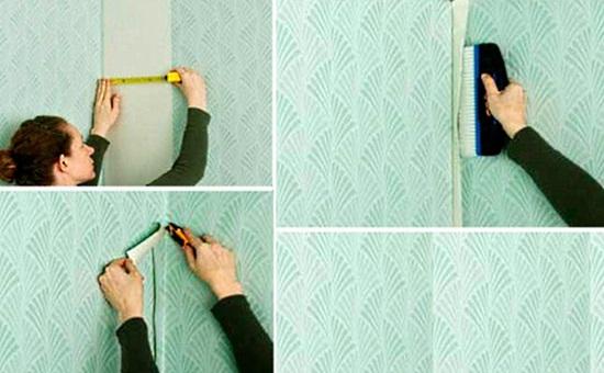 Как клеить флизелиновые обои метровые своими руками - инструкция