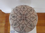 'Paterson Street' detail (pre-loved stool, drawn design, embroidery) 2013