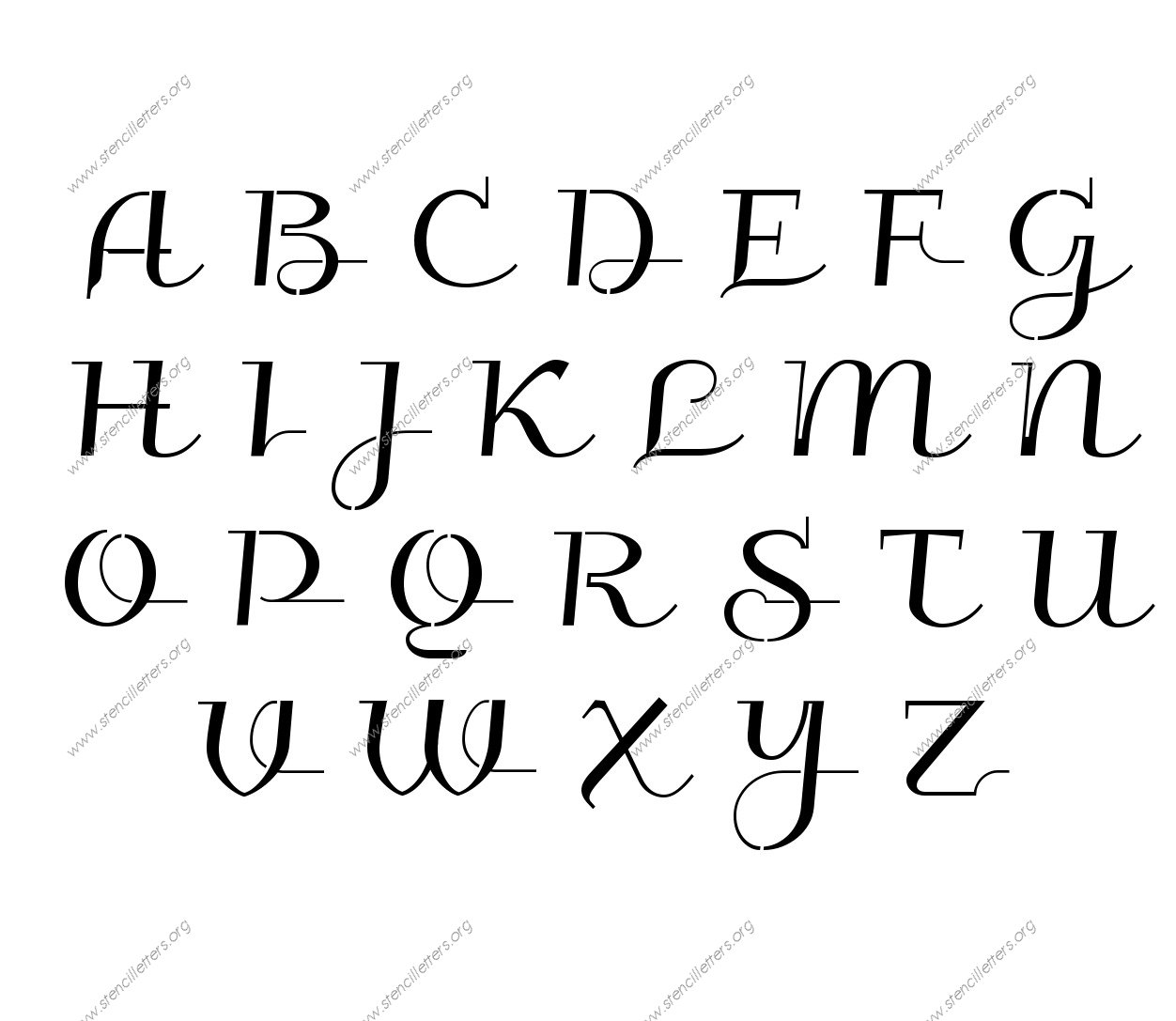 Alphabet Letters To Print Uppercase And Lowercase