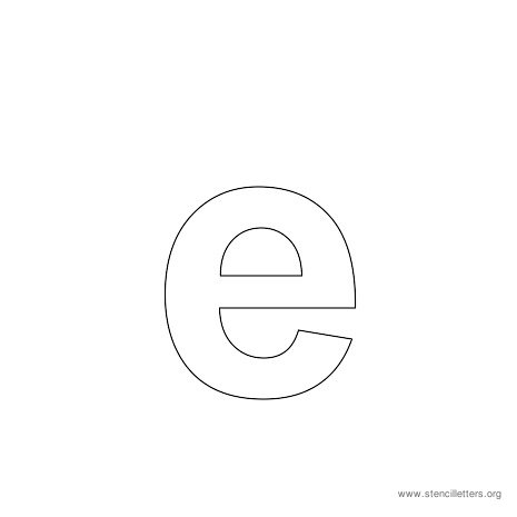 Arial Stencil Letters Lowercase Stencil Letters Org