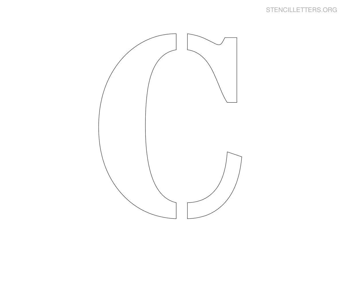 Stencil Letters C Printable Free C Stencils