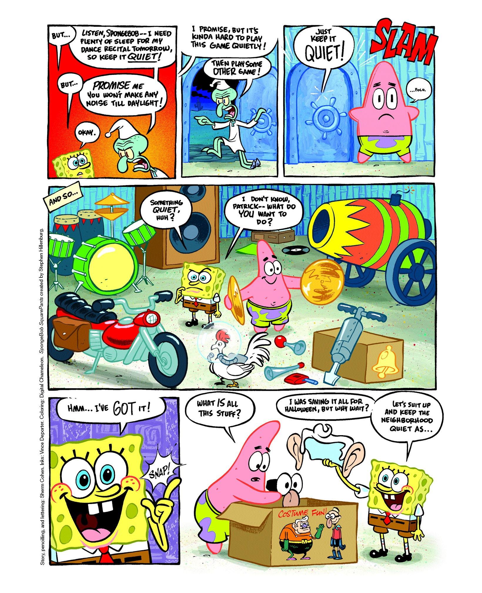 Super Suspicion Spongebob Tale