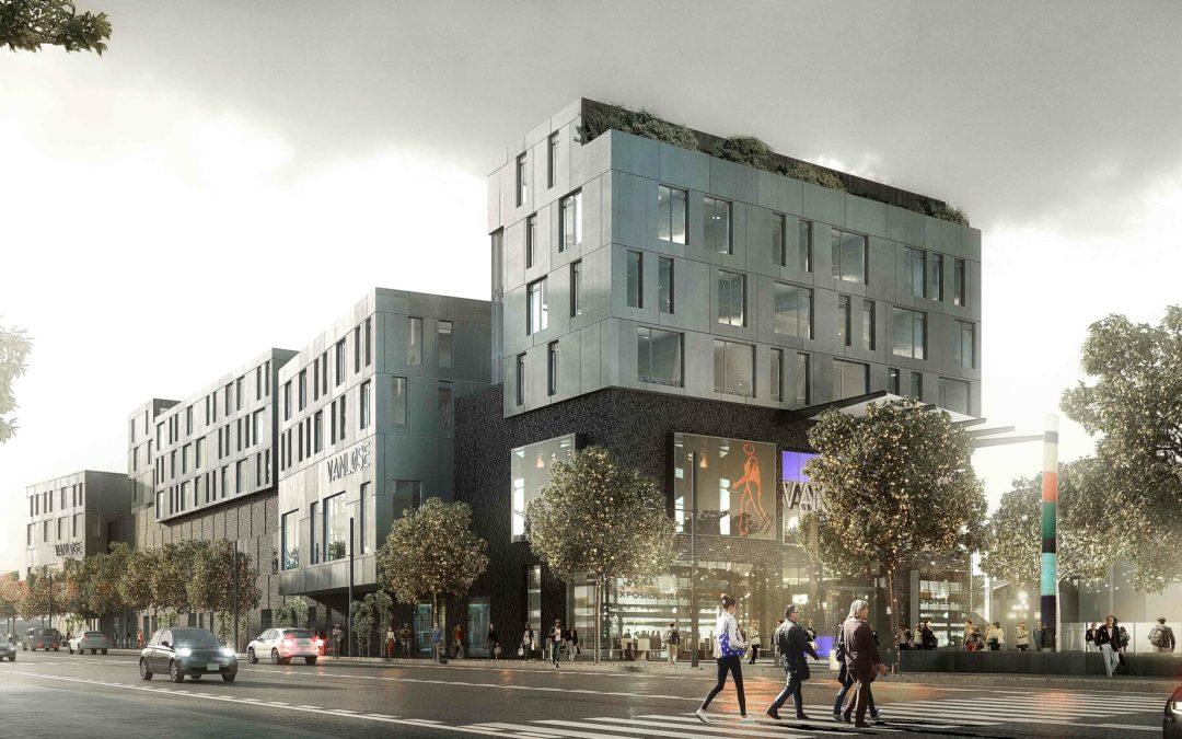 Bygger grønt bykvarter oven på shoppingcenter
