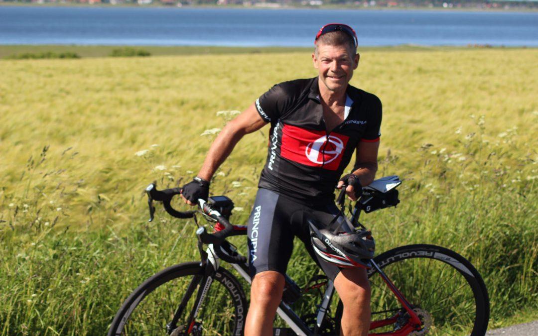 Paris tur/retur på cykel er bare hyggetræning for Stig