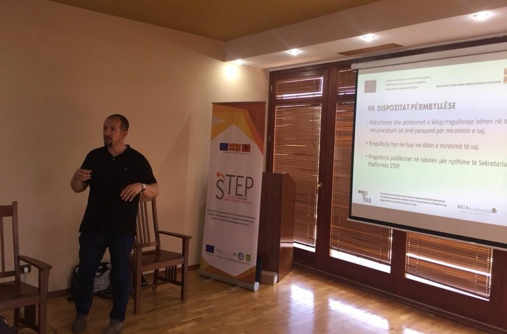 Втор конститутивен состанок на мрежата Степ во регионот Елбасан