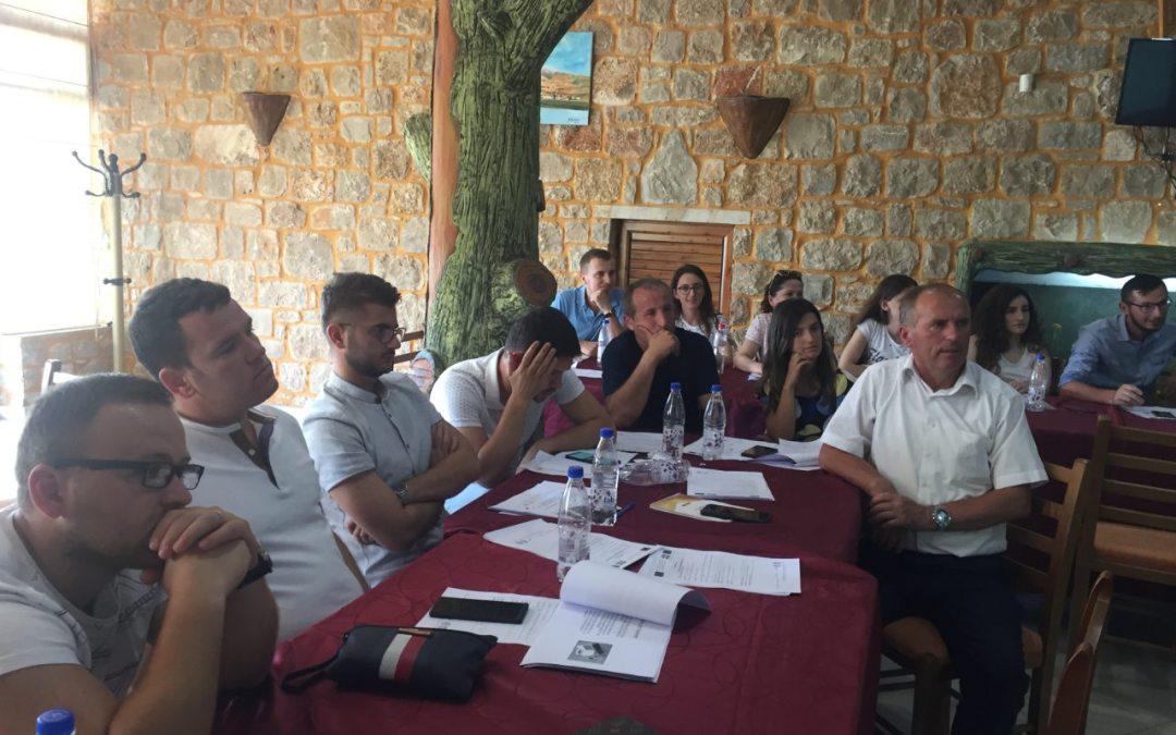 Одржана втората обука за членовите на СТЕП мрежата во Белш, Република Албанија