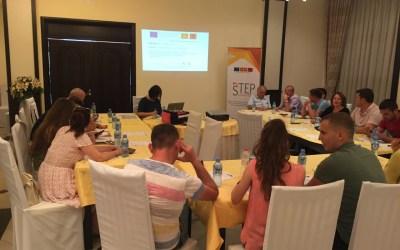 Në Peqin u mbajt trajnimi i tretë dy ditor  për anëtarët e rrjetit STEP nga Shqipëria