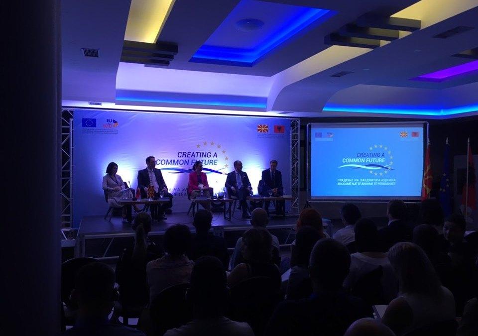 Тимот на СТЕП како дел од пограничниот настан ''Градење на заедничка иднина''