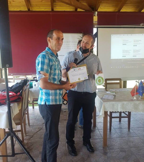 Final presentation and awarding of certificates to the members of the STEP network in Polog