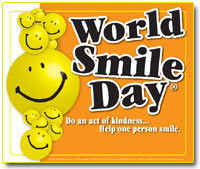 Image result for WorldSmileDay