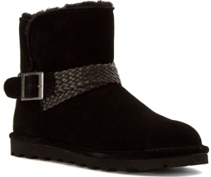 Bearpaw Brienne Women Round Toe Suede Brown Winter Boot