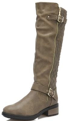 DREAM PAIRS Riding Knee High Boots