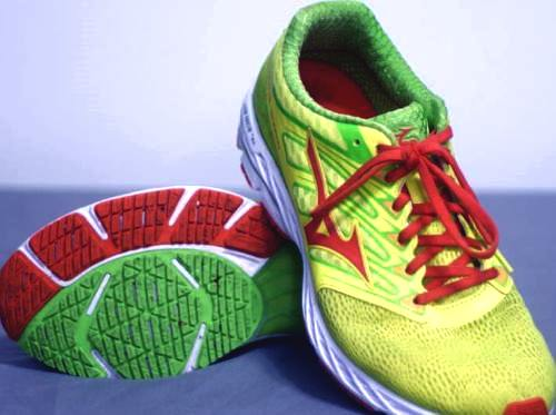 Mizuno Running Wave Shadow Shoes Green