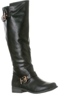Riverberry Women's Mia Smooth Knee-High Low Heel Riding Boot Review