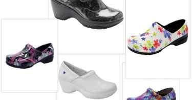 Tafford nursing shoes collage