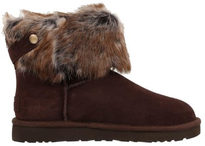 ugg boot with fur