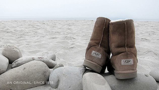 boots on stones