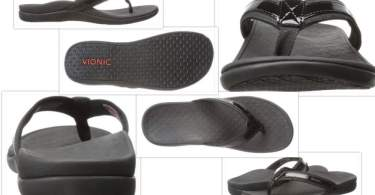 Vionic tIde sandals collage
