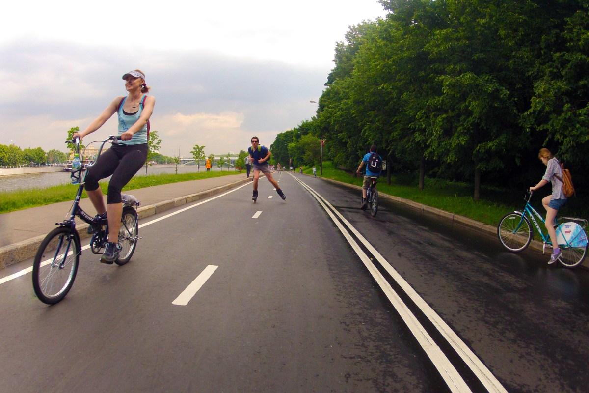 Велодорожки Москвы