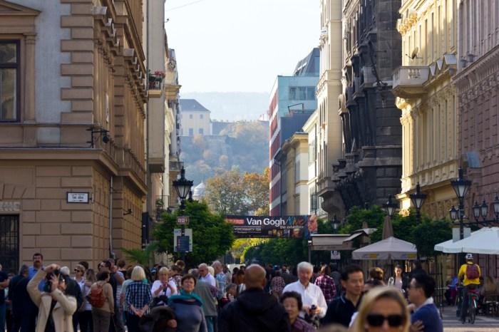 4. Вид на Буду от базилики святого Иштвана - в Будапеште очень живописный рельеф