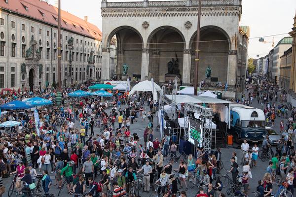 Мюнхен - велосипедная столица Германии