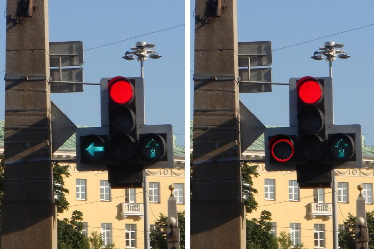 Новые светофоры, зебры и полосы движения велосипедов