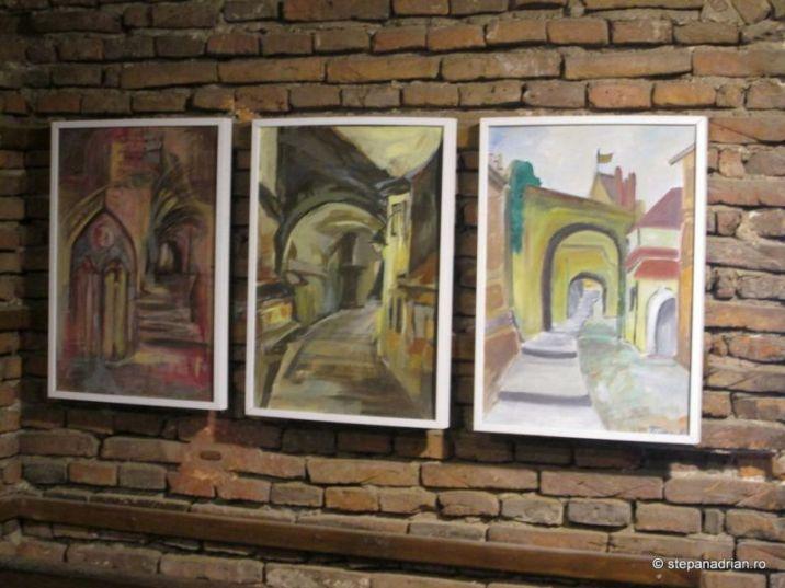Turnul Sfatului Sibiu-picturi expozitie