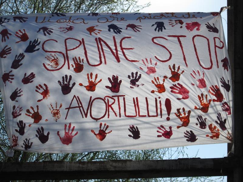 Viața are prioritate la Lipova – Spune STOP avortului