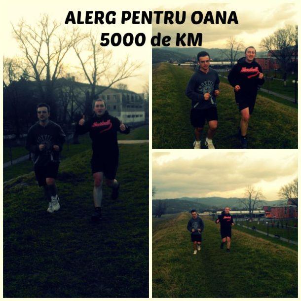 Ultima alergare din campania Alerg pentru Oana. Împreună am alergat toți cei 5000 de KM!