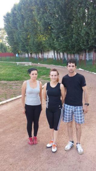Echipa frumoasă din Târgoviște, Asociația Suflețel. Oameni minunați :) Au alergat pe 4 iulie 23 de KM!