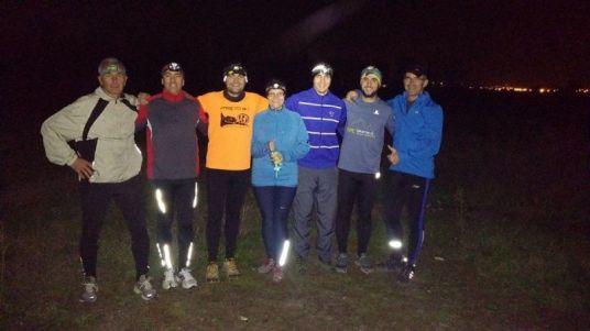 187 KM alergați și donați de echipa din Arad.