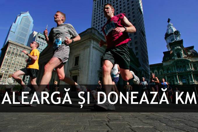 Ești alergător amator sau profesionist? Donează și tu KM alergați!
